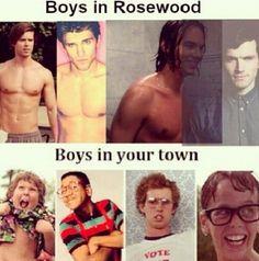 Rosewood men vs our town men funny
