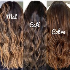 Brown Hair Balayage, Blonde Hair With Highlights, Brown Blonde Hair, Hair Color Balayage, Brunette Hair, Fall Highlights, Blonde Honey, Honey Balayage, Brunette Color