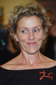 Actress Frances McDormand at the Venice Film Festival Sept 2014, Related: Stop Messing With Your Face McDormand with Her Husband Filmmaker Joel Coen;