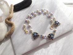 Fashion Statement Swarovski Crystal Beaded Chain by Sparklesalot2