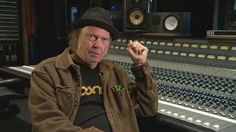 Canadian rock legend Neil Young says portable music players have degraded the music listening experience, which is why he's backed a new high-resolution music company that will begin selling files and players next month in Canada.