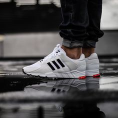 MIDNIGHT ONLINE Adidas EQT Support RF White / Black Credit : The Good Will Out  #Adidas #Inside #Sneakers