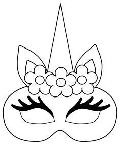 Wonderful Screen Unicorn mask template to print - Practical Tips Ideas Unicorn mask template to print – Practical Tips Easy Fall Crafts, Fall Crafts For Kids, Craft Projects For Kids, Diy For Kids, Unicorn Coloring Pages, Cute Coloring Pages, Cartoon Coloring Pages, Unicorn Mask, Unicorn Printables