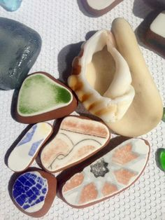 Sea pottery from Morocco https://poshatplay.wordpress.com/2016/05/27/from-morocco-to-paris-to-l-a-springs-inspired-prints/