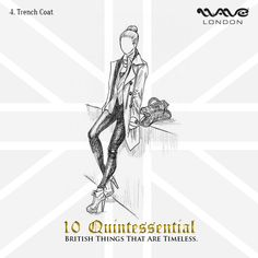 A #sartorial gift to the #world of #fashion, the #TrenchCoat will always remain eternally #British.