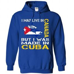 I may live in Canada but i was made in CUBA - #chunky sweater #sweater fashion. LIMITED TIME => https://www.sunfrog.com/No-Category/I-may-live-in-Canada-but-i-was-made-in-CUBA-5984-RoyalBlue-Hoodie.html?68278