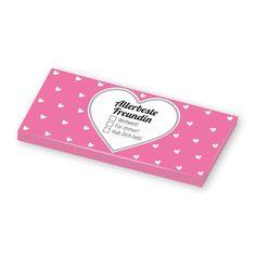 Dir fehlen manchmal einfach die richtigen Worte? Dann ist diese leckere Schokolade genau das richtige für dich! Mit lustigen und frechen Ankreuzoptionen ist diese Schokolade garantiert ein origineller Botschaftenübermittler! http://shop.sheepworld.de/shop/GRUSS-CO/Gruss-Co-Klartext-fuer-Dich/Schokolade-Allerbeste-Freundin.html