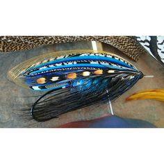 """161 Likes, 18 Comments - Jin-woo Lee (@whiskeyjin) on Instagram: """"High Tide.....tied in hand #flytying #flyfishing #speyfishing #steelhead #wetfly #salmonflies…"""""""