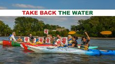 Take Back the Water: Hudson River Activists Protest Spectra Pipeline