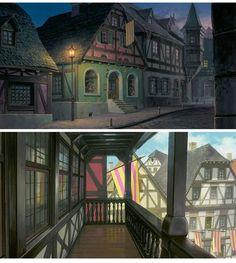 Howl's Moving Castle (O Castelo Animado), do Ghibli | THECAB - The Concept Art Blog