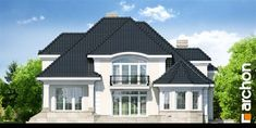 Bungalow House Design, Unique House Design, Home Design Plans, Design Case, Home Fashion, Outdoor Gardens, Garden Design, Villa, Mansions