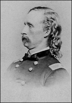 A Photo Montage of George Armstrong Custer George Custer, Battle Of Little Bighorn, George Armstrong, United States Military Academy, Union Army, Major General, American Civil War, Photomontage, Luther