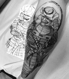 Samurai tattoo fredao oliveira