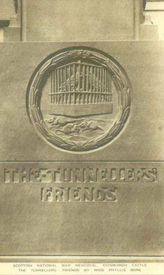 Edinburghshire, Edinburgh, Scottish National War Memorial, The Tunneller's Friends