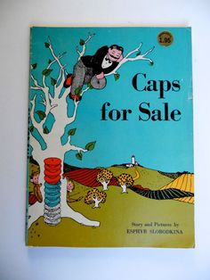 50 OFF EVERYTHING 1960's Caps For Sale Book by GiddyGirlVintage, $5.00