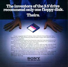 Vintage Sony ad (1980s)