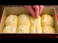 Reteta fara framantare! Aluatul perfect pentru chiflele iubite | SavurosTV - YouTube Hot Dog Buns, Bread Recipes, Cheese, Breakfast, Food, Youtube, Breads, Tv, Garlic Bread