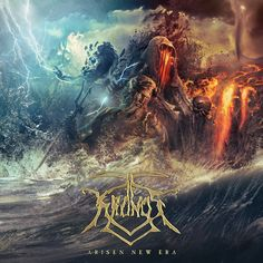 "French brutal death metal band Kronos will release their new album, entitled ""Arise New Era"" on July The new album is the band´s . Death Metal, Metal Albums, Music Album Covers, Metal Artwork, Cover Tattoo, Ancient Civilizations, Lp Vinyl, Metal Bands, Dune"