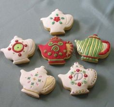 tea pot cookies by sherri