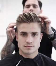 Barber Haircuts For Men - Hair Styles Barber Haircut Styles, Barber Haircuts, Haircut Men, Men Haircut 2018, Dapper Haircut, Haircut Names For Men, New Hair, Your Hair, Hair And Beard Styles