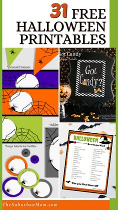 Want to have a boo-tiful Halloween? Then, it's time to prepare for the spooky season! Bring on your boo's and roars with some fun DIY Halloween crafts! Check out the blog for more details on over 31 Free Halloween Printables! With a wide selection of Halloween decorations, Halloween crafts, DIY crafts, homemade projects, Halloween party decorations, printable banners, printables Halloween signs and so much more, take your pick and make your Halloween extra festive and special! #freeprintables
