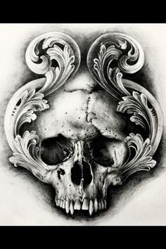 Pin on Totenkopf tattoos Skull Tattoo Design, Skull Design, Skull Tattoos, Body Art Tattoos, Sleeve Tattoos, Tattoo Designs, Evil Skull Tattoo, Tattoo Sketches, Tattoo Drawings