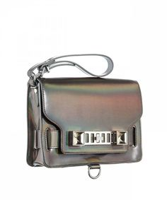 Proenza Schouler PS11 Clutch Metallic Hologram - New Arrivals - Shop Online