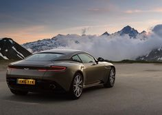 Aston Martin DB11 exploring the Alps