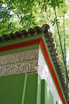 Yves Saint Laurent's happy place. Jardin Majorelle, in Marrakech.