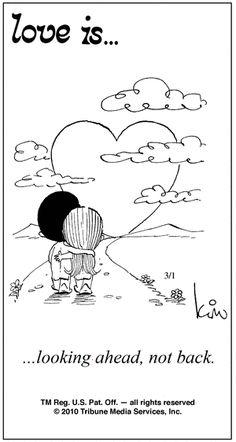 we are never looking back...blue skies ahead :-)