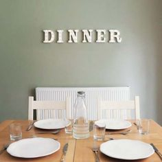 Dinner Battery Light Up Circus Letters, Warm White LEDs