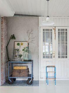 Landelijk vintage interieur   Interieur inrichting