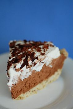 tried and true - French Silk Pie | Beantown Baker