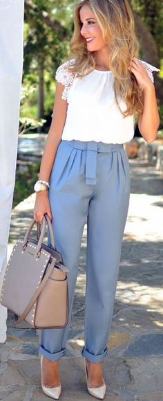 Yüksek bel pantolon modelleri - http://www.modelleri.mobi/yuksek-bel-pantolon-modelleri/
