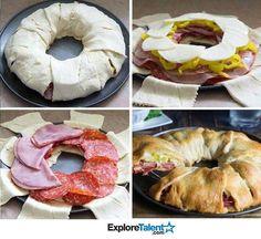 Sandwich ring...yum