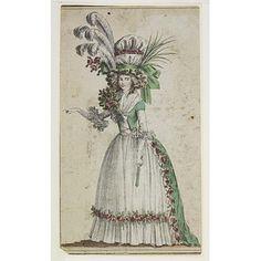 Half-dress, France, late 1780s