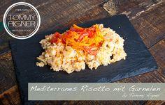 Mediterranes Risotto mit Garnelen foodporn kärnten küche kochen, ohne Fleisch, Fisch, vegetarisch, vegan Risotto, Macaroni And Cheese, Ethnic Recipes, Food, Meat, Easy Meals, Mac And Cheese, Meals
