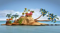 7 Beautiful 3D Animations, Short Films and Character designs for your inspiration
