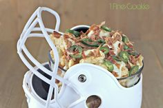 Three Little Pigs Bacon, Pulled Pork, & Pork Rind Nachos - 1 Fine Cookie Football Tailgate, Football Season, Three Little Pigs, Pork Rinds, Bbq Party, Good Enough To Eat, Light Recipes, Nachos, Pulled Pork
