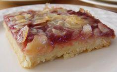 Koken in de Brouwerij: Amandel-frambozenrepen Bill Granger's recipe for Almond and Rasperberry Slice in Dutch