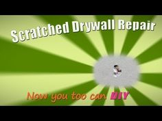 On this episode of The Handy Woman DIY, Kim demonstrates how to quickly and easily repair scratches in your drywall.
