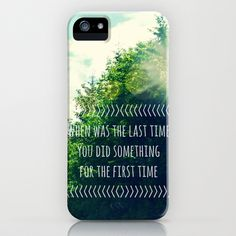 The Last Time iPhone & iPod Case by RDelean - $35.00