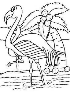 Cool Coloring Pages Flamingo Coloring Pages Fashionwants