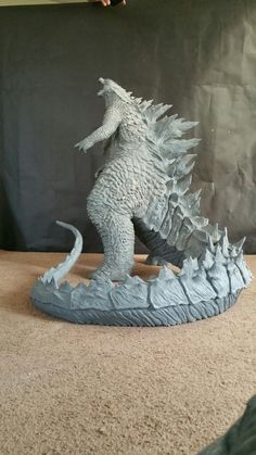 Here's a look at the Godzilla statue I sculpted a few years back. Stands at tall and 9 feet long from tip of the nose to tip of the tail. Sculpted in Chavant clay. Molded and then cast in resin. Godzilla Suit, King Kong Vs Godzilla, Godzilla Tattoo, Godzilla Toys, Giant Monster Movies, Alien Vs Predator, Japanese Film, Sculpture Art, 3d Printing
