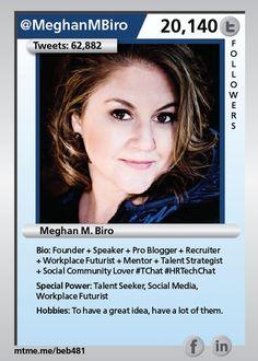 Founder + Speaker + Pro Blogger + Recruiter + Workplace Futurist + Mentor + Talent Strategist + Social Community Lover #TChat #HRTechChat