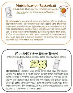 WISE GUYS TEACHING RESOURCES: Common Core Multiplication Intervention Activities