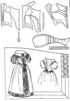 Форма и конструкция костюма франции