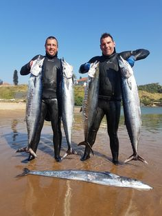 Spearfishing off aliwal shoal Richard Colyn and Bryce Buis