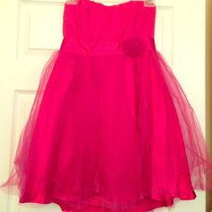Pink Dress❤️ New strapless pink dress size M. Came from non smoking or pet free home! Perfect for a night out! Dresses Mini