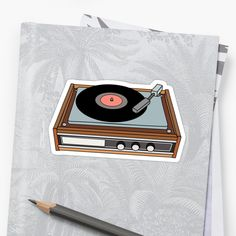 classic vinyl record player • Also buy this artwork on stickers, apparel, phone cases, and more.